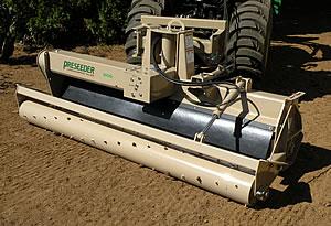 Tractor Mounted Power Rake Landscape Tiller Preseeder 174